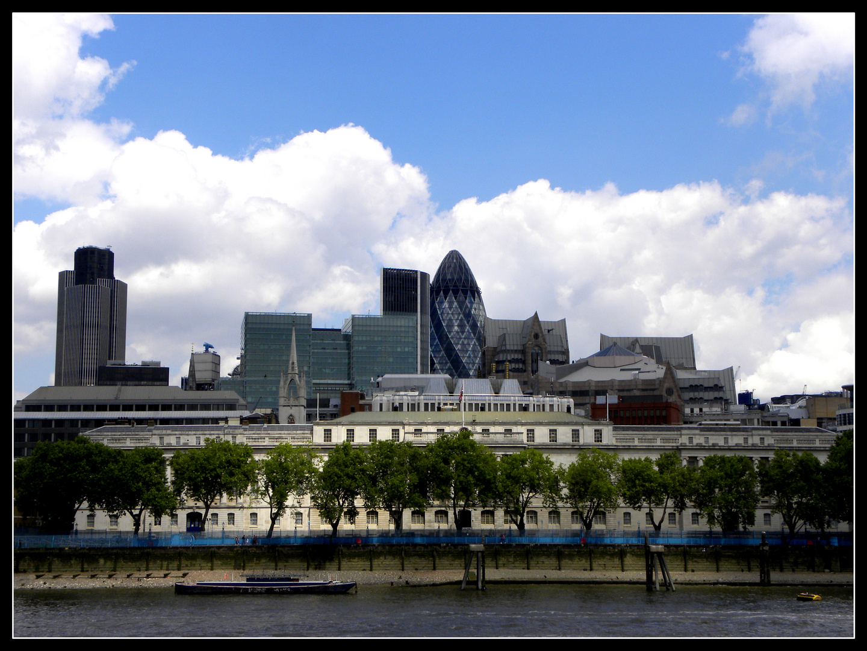 Skyline of London 2009
