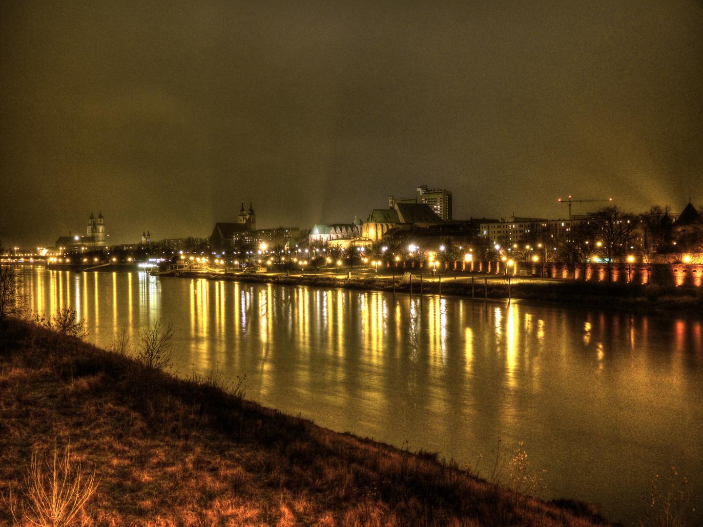 Skyline of Magdeburg