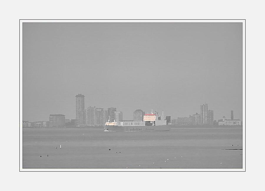 Skyline of Vlissingen (seem from Groede, Zeeuws-Vlaanderen) 02