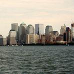 Skyline-Panorama New York Manhatten