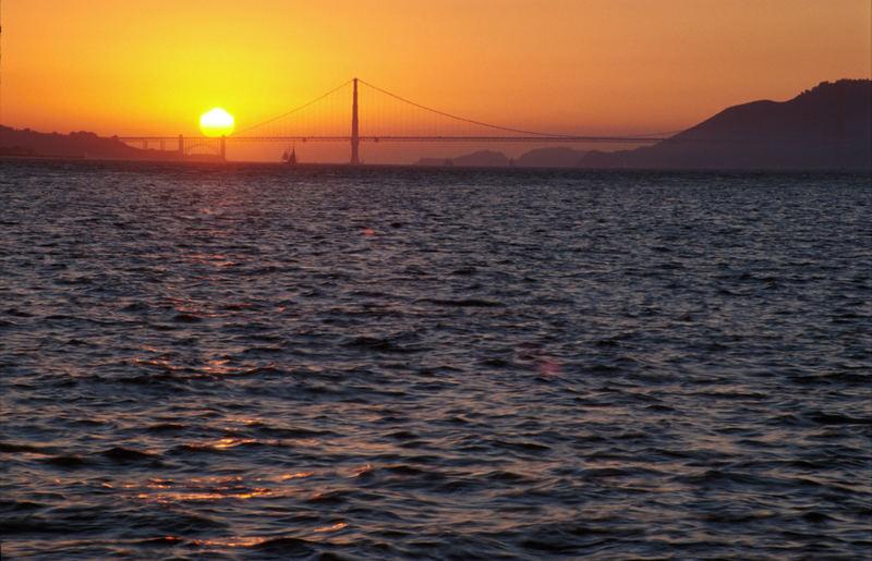 Skyline - Treasure Island - San Francisco - Californien - Nordamerika