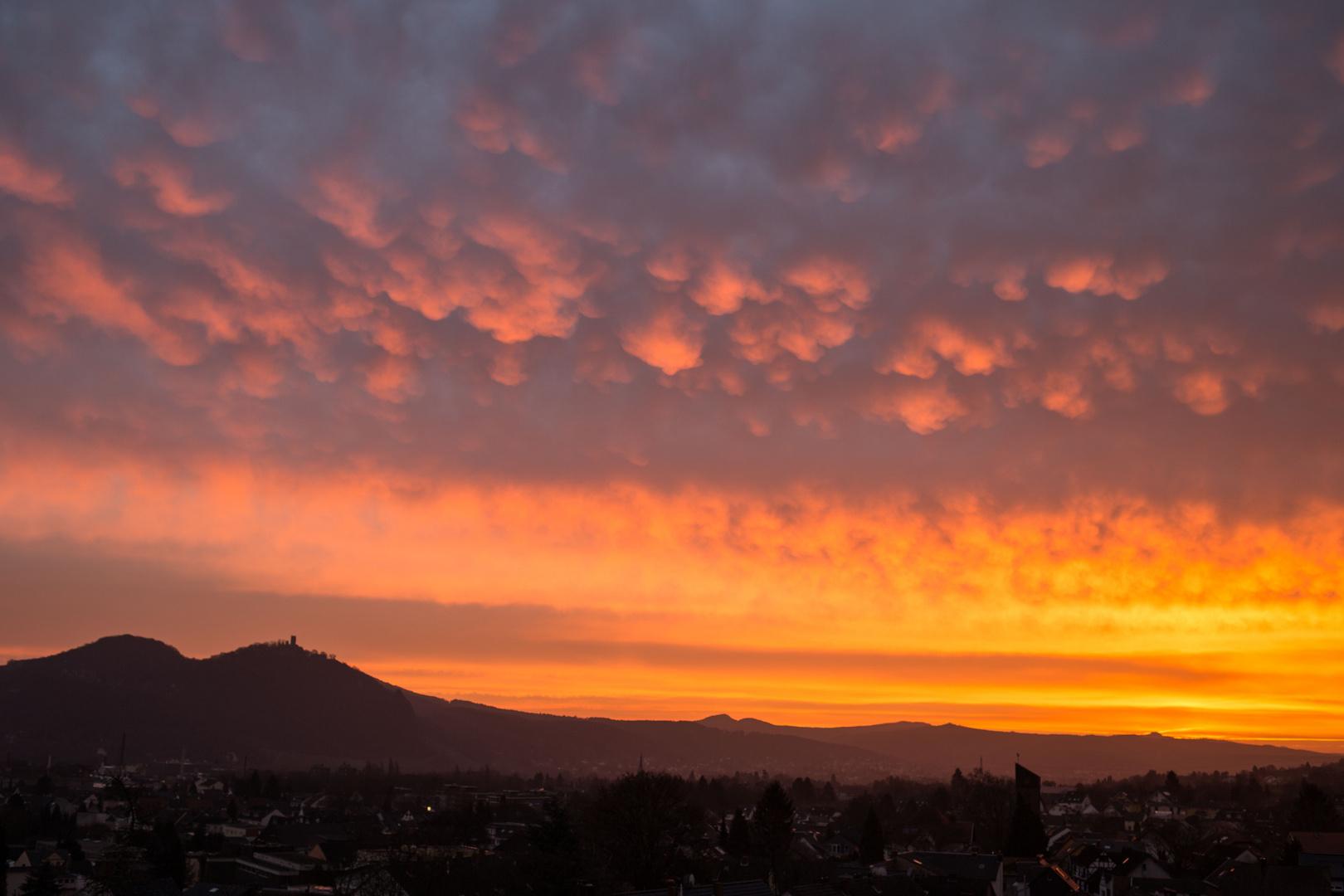 Skyline über Siebengebirge