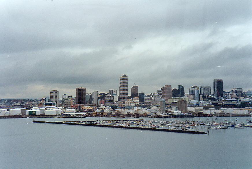 Skyline von Auckland/ Neuseeland
