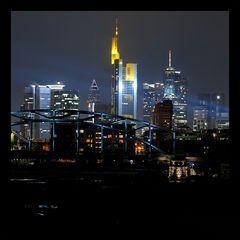 Skyline von Ffm