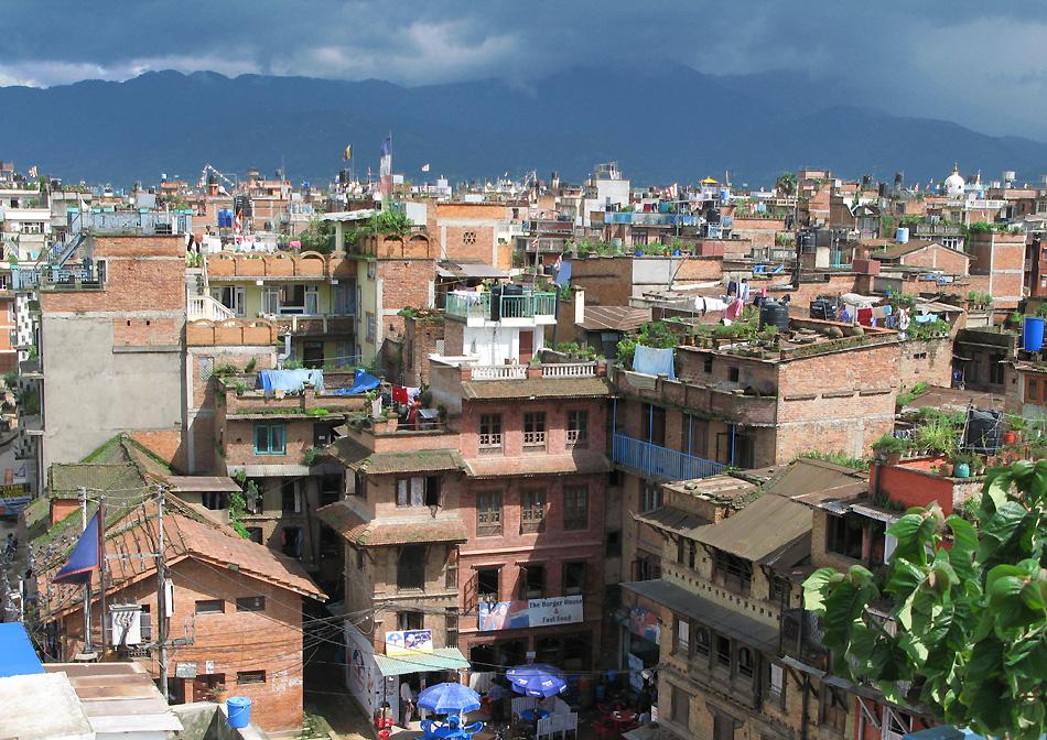 Skyline von Patan- Nepal