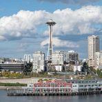 Skyline von Seattle, USA....