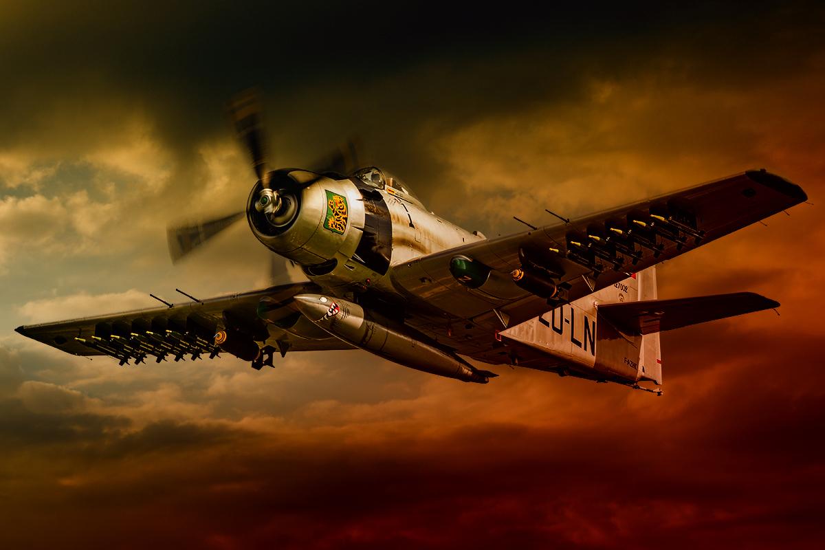 Skyraider Douglas AD-4N