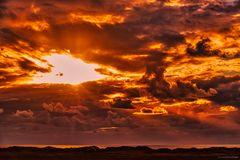- Sky's burning -