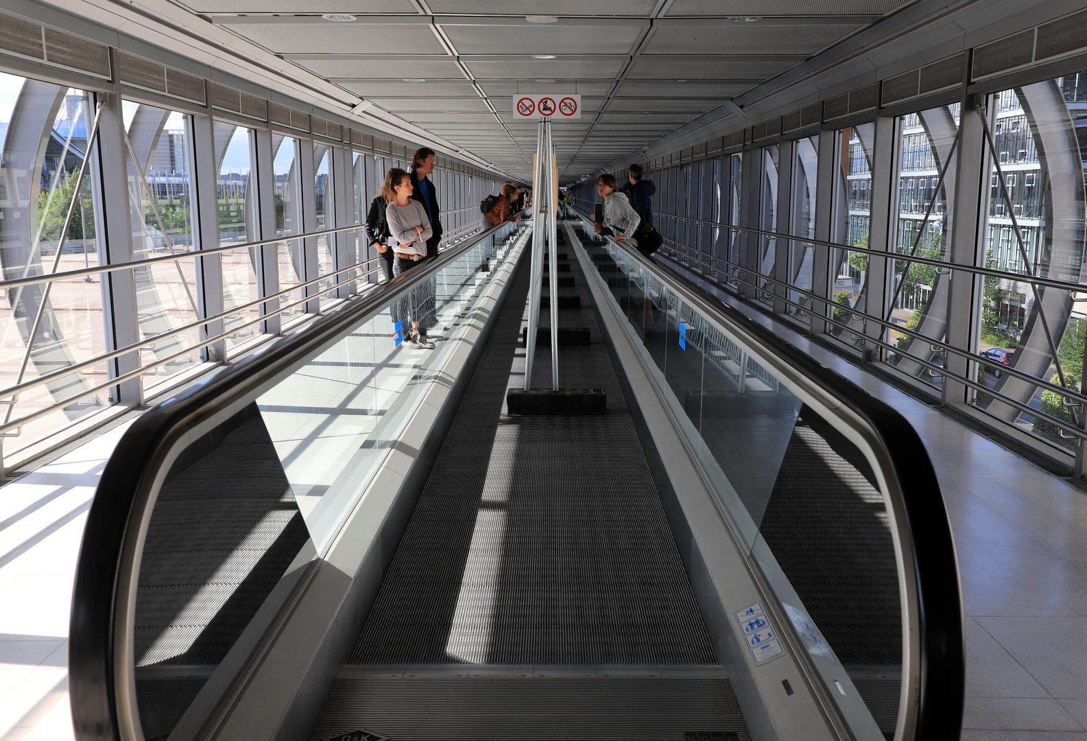 skywalk belebt