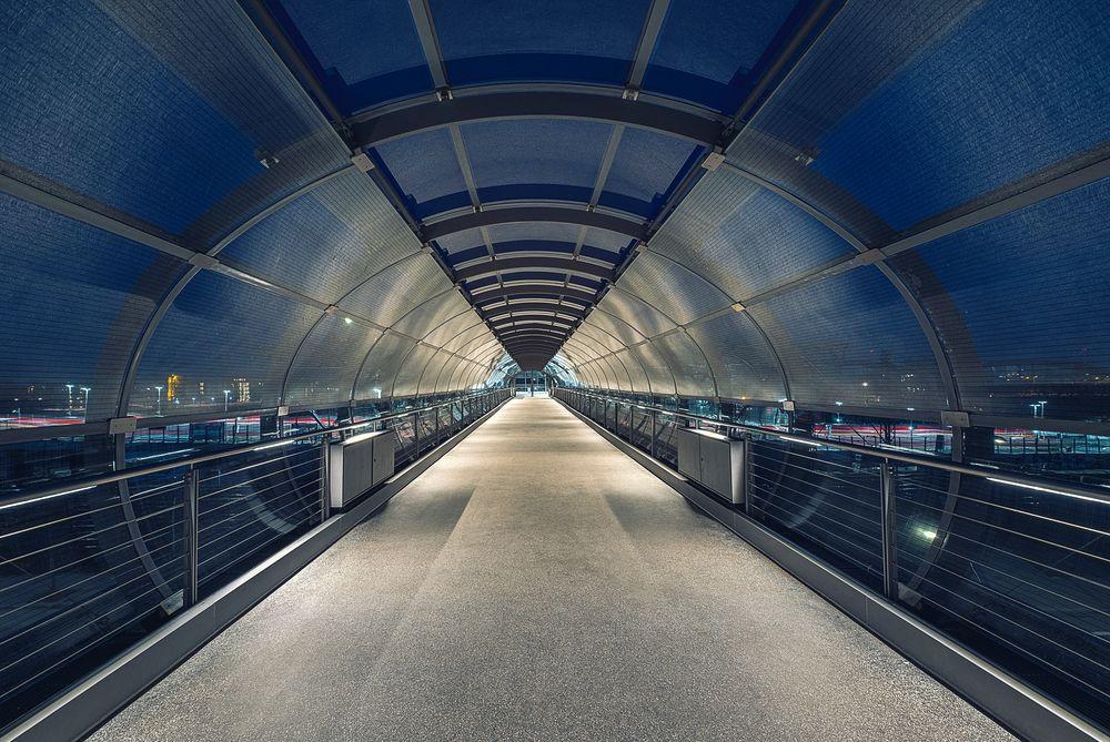 Skywalk - U4 Hamburg Elbbrücken