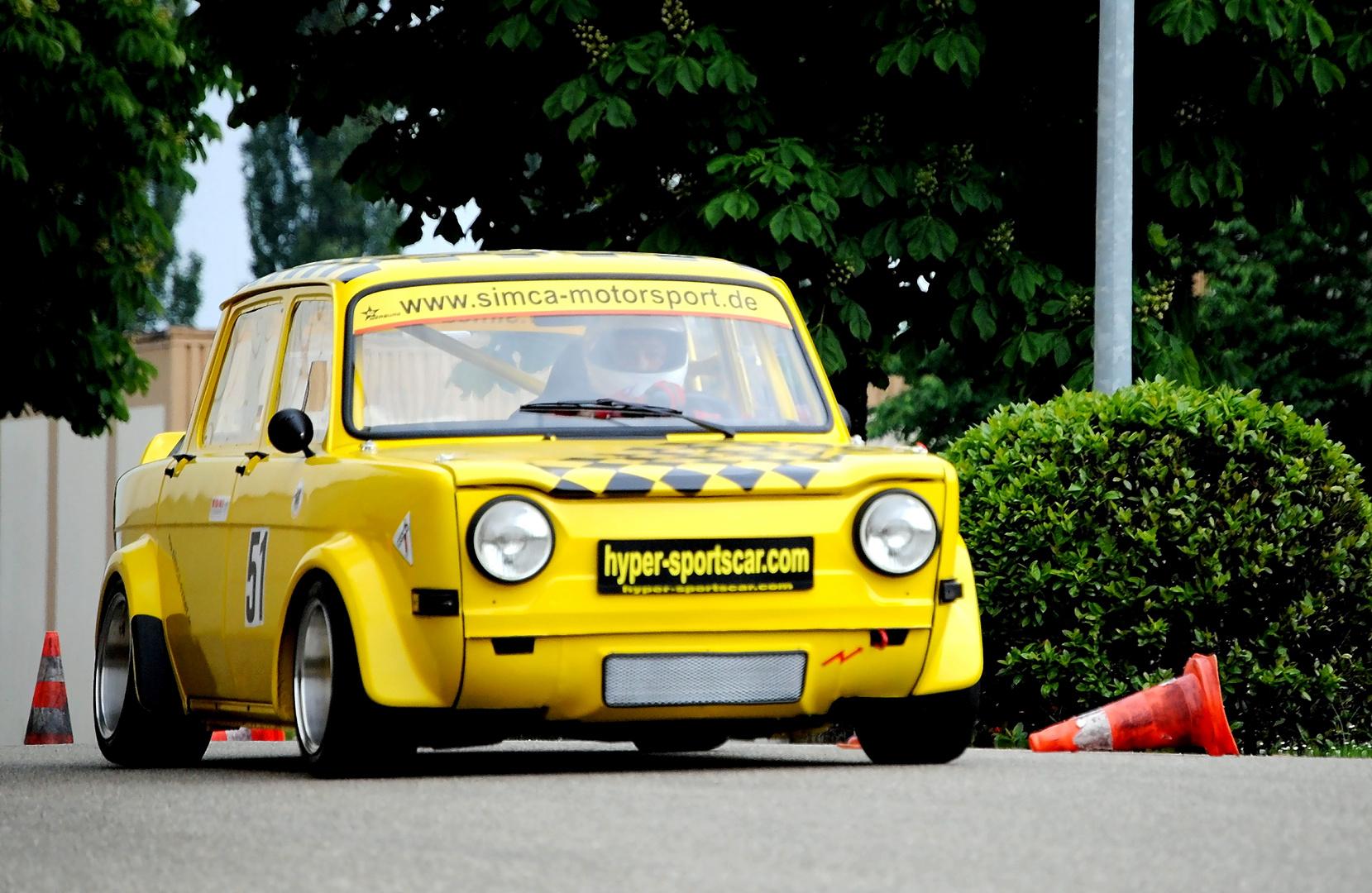 Slalom Simca Rallye 2