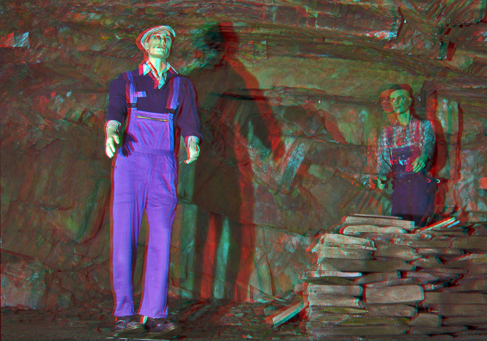 Slate Mine 3D-HDR [ANAGLYPH]
