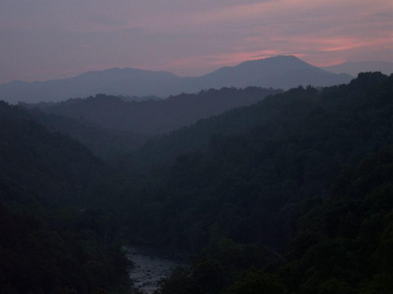 Sleep well, old mountains