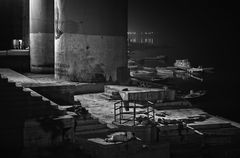 Sleeper In Necropolis ~ Lalita Ghat