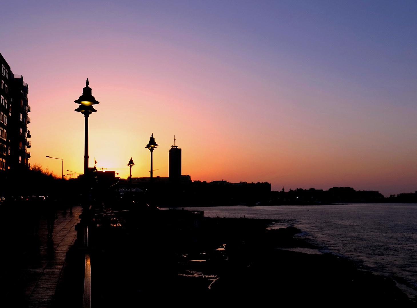 Sliema - MALTA   -  Sunset