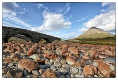 Sligachan Bridge und die Cuillins
