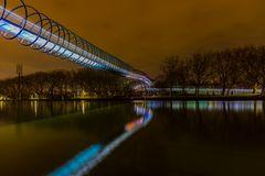 Slinky springs bridge