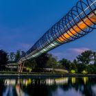 "Slinky Springs to Fame Oberhausen ""Rehberger-Brücke"""