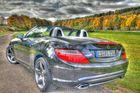 SLK 250 Hinten HDR