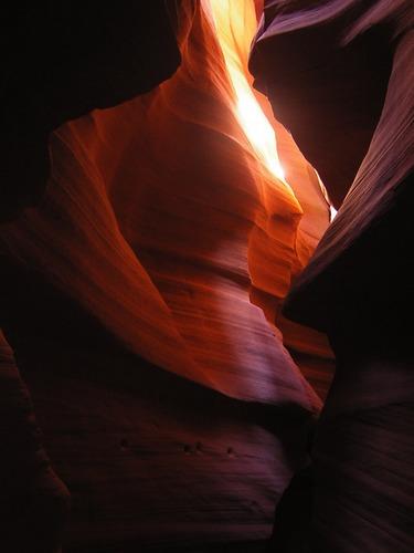 Slot Canyon im Anthelope Valley, USA