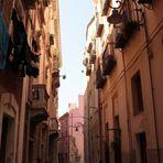 Small alley in Cagliari's centre