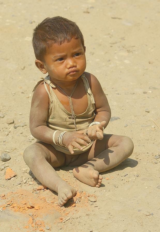 Small girl, Assam