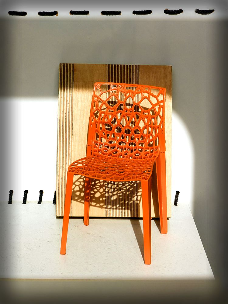 small model of the chair