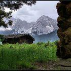 Small old hut
