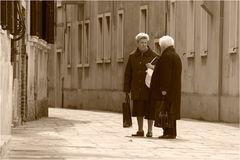 small talk in Venice