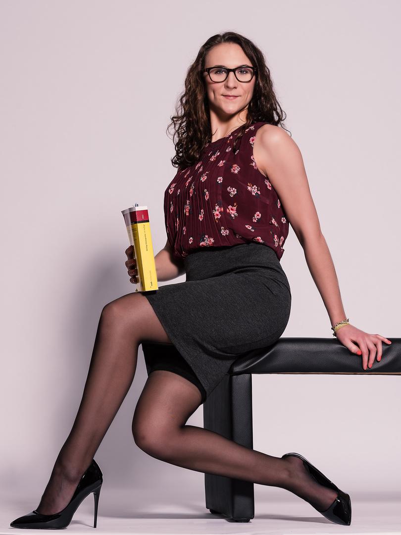 Smart und sexy Foto & Bild | studio, sexy, strümpfe