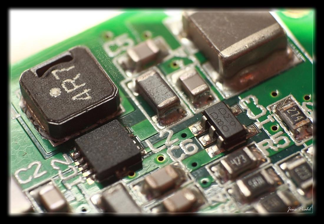 SMD Platine (Makro Beleuchtung) ... Foto & Bild | nah- & makro ...