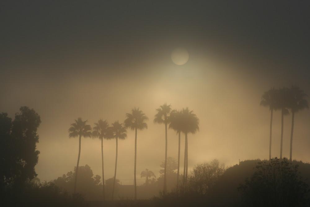 Smog oder Nebel?
