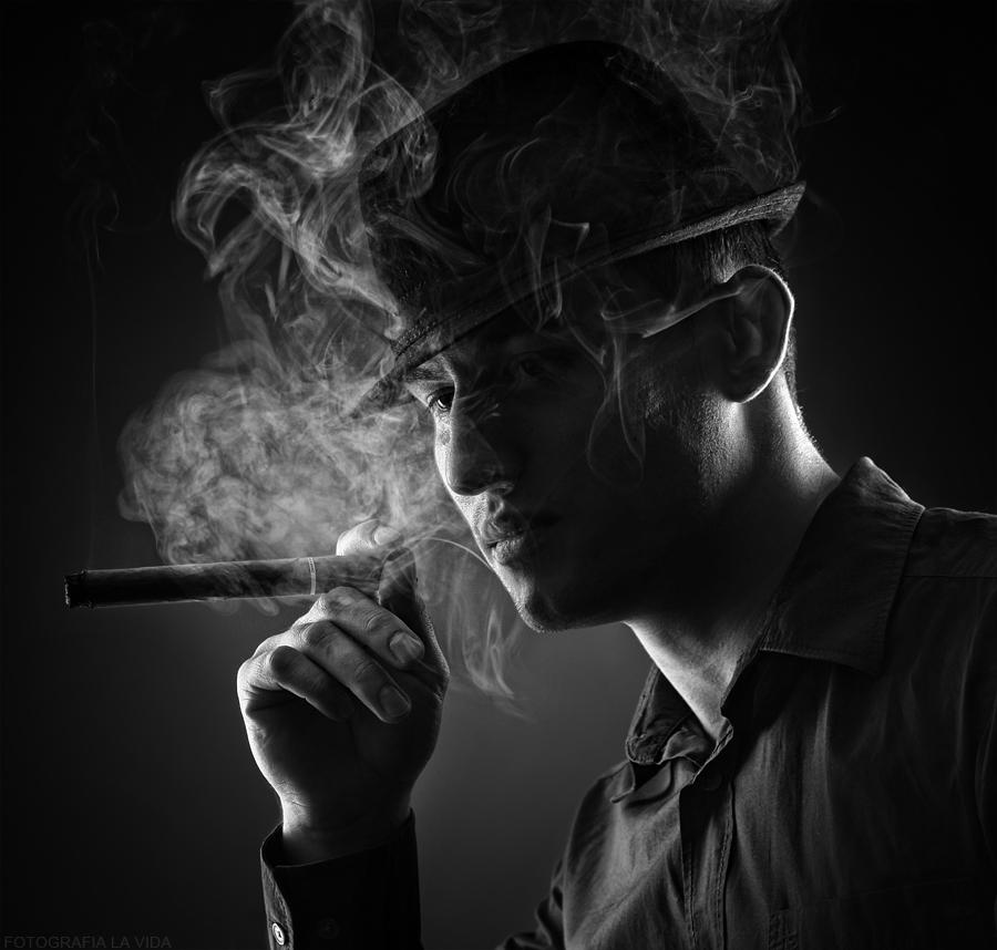 . smoke .