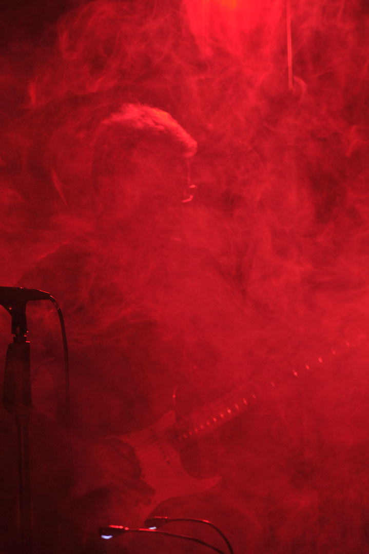 Smoke on Stage..