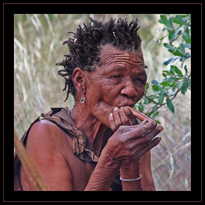 Smoke over Kalahari II