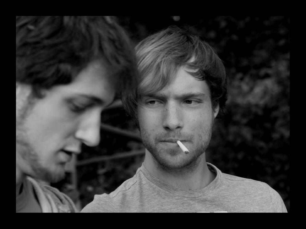 Smoke the cigarette