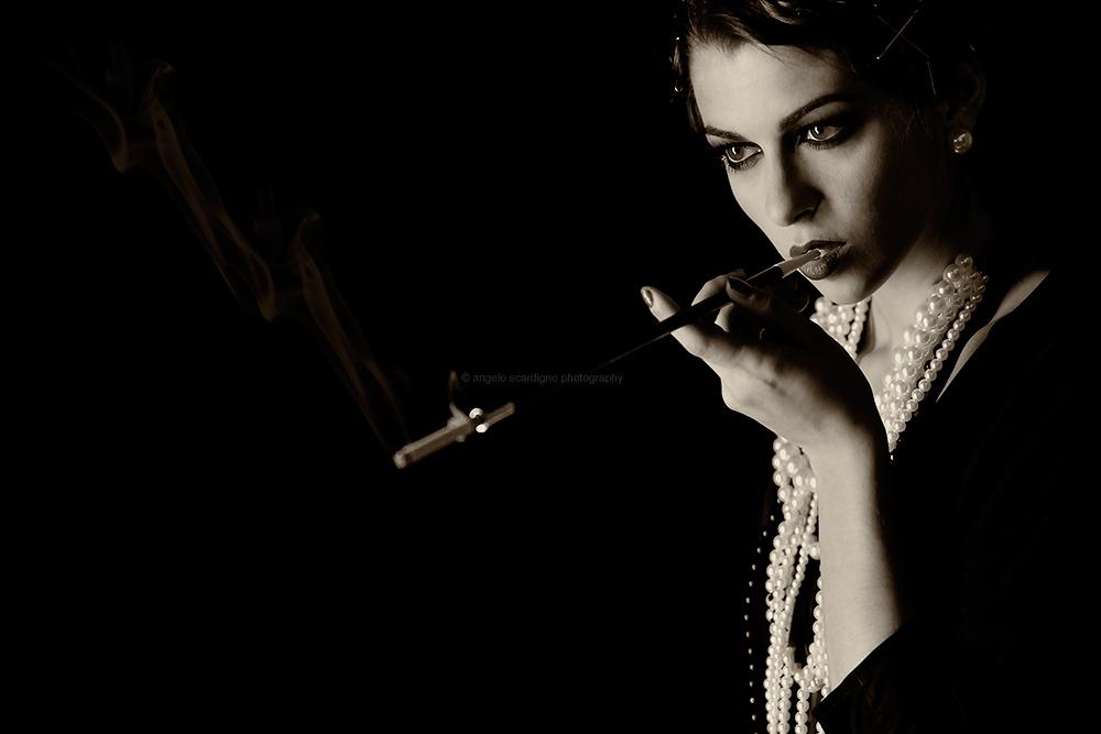 Smoking....