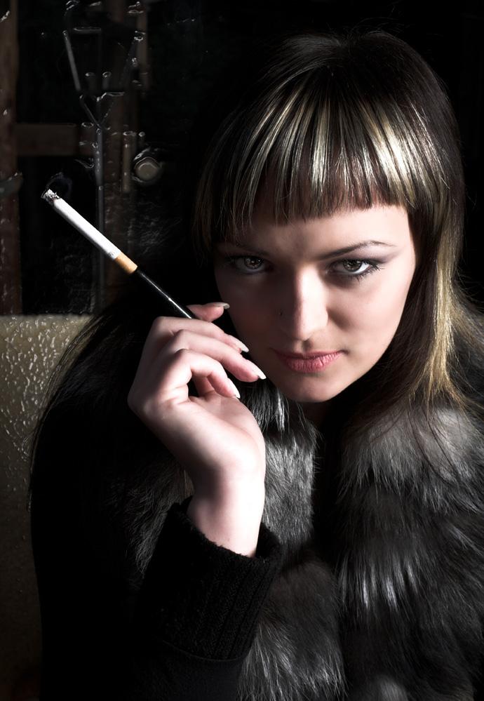* smoking *