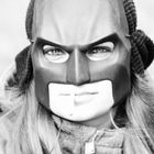 Smoking Batman.