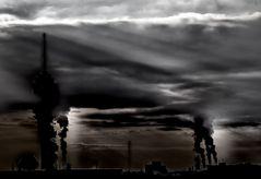 smoking city