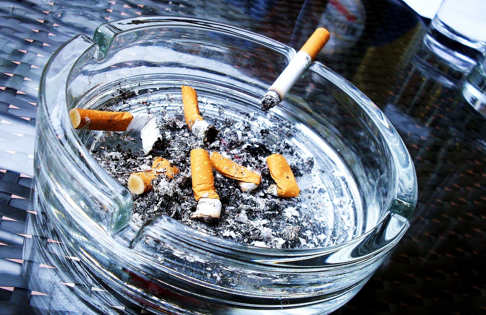 Smoking isn't good.