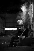 Smoking Mafioso