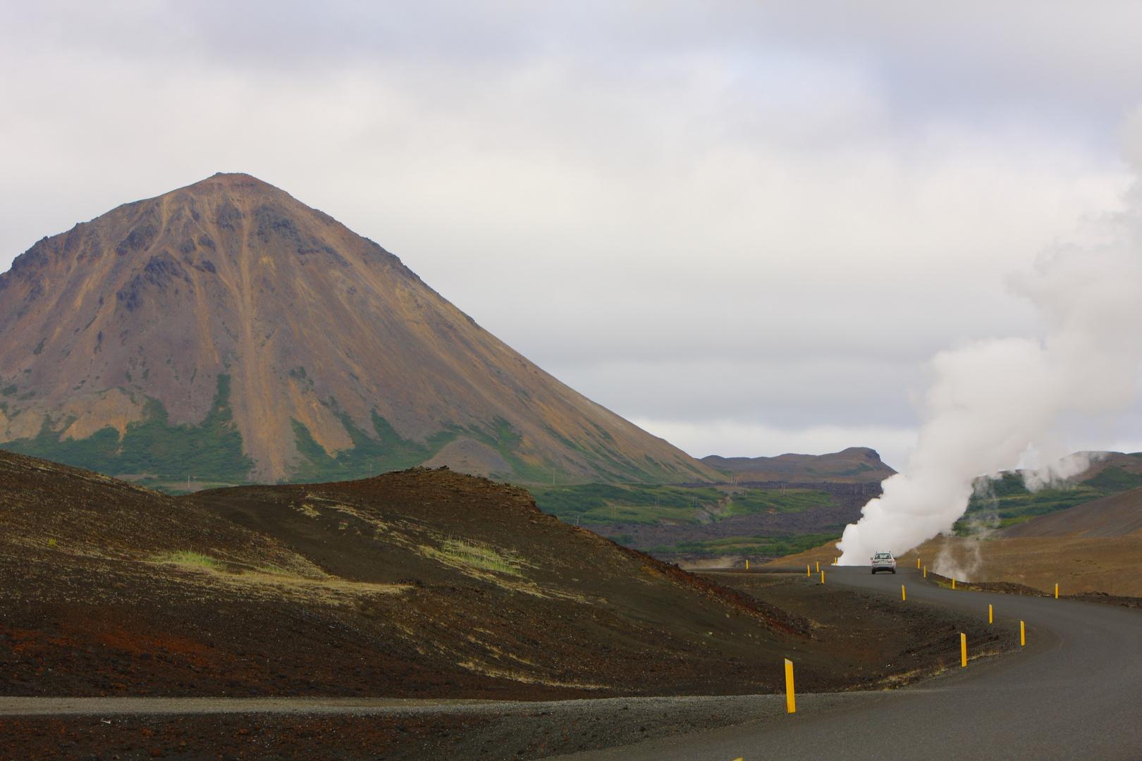 smoking street - Iceland