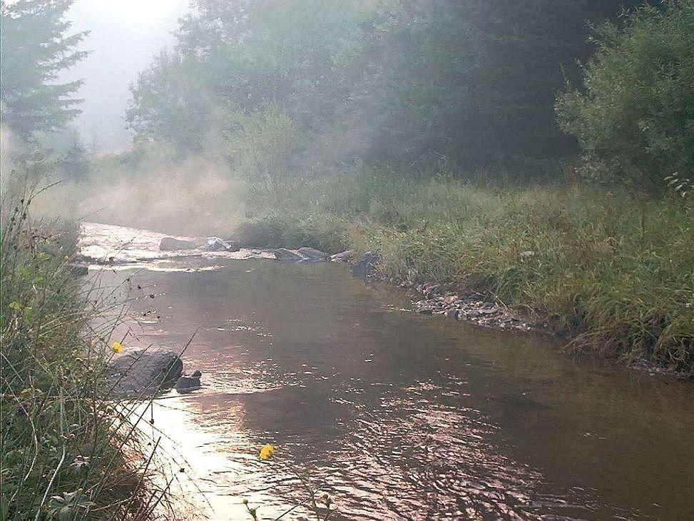 smoky stream