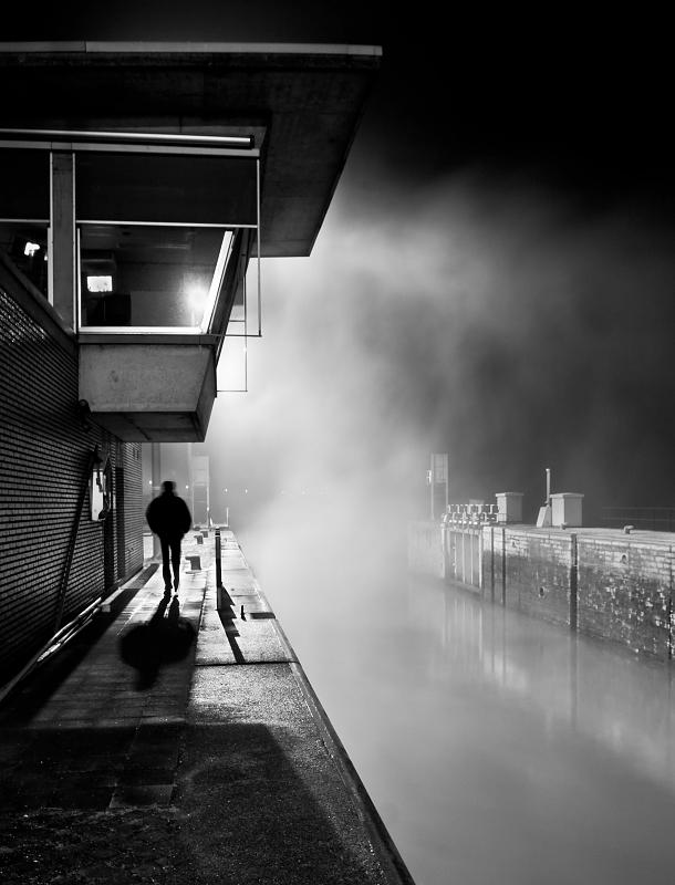 Smoky water