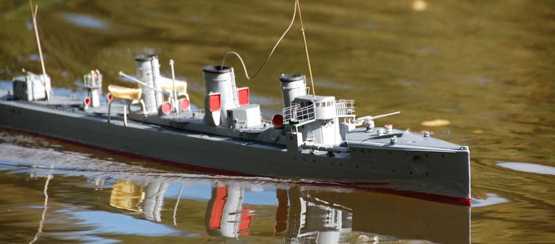 SMS B-110 von Steuerbord gesehen