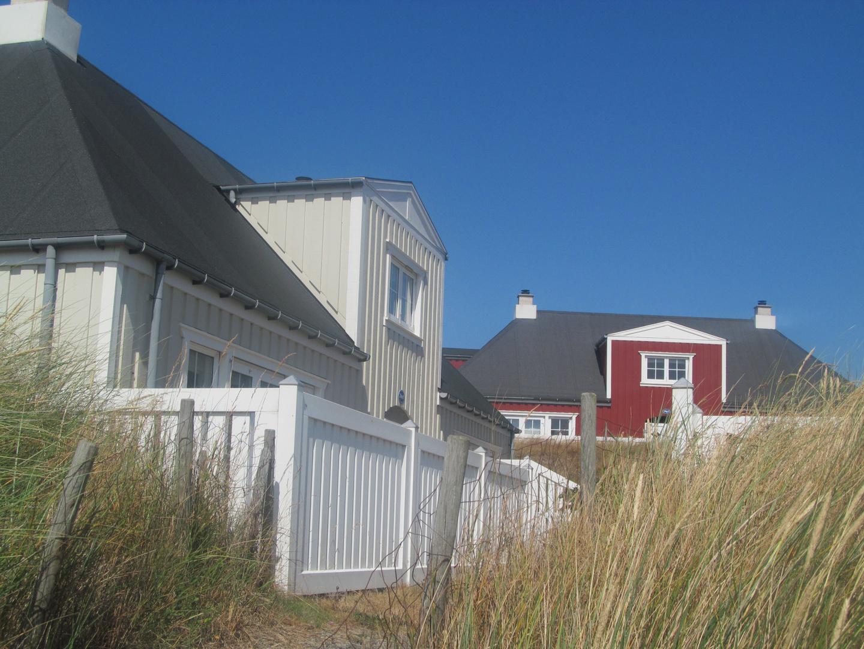 Søndervig. Auf dem Weg zum Strand.