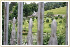 Sneak view upon Blair Atholl's formal Walled Garden