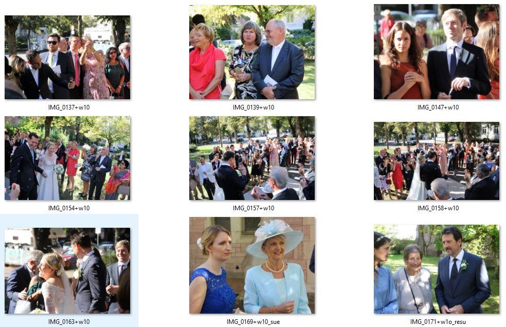 snip nr4 +6Fotos 9mal_Hochzeit_afterChurch_vMT