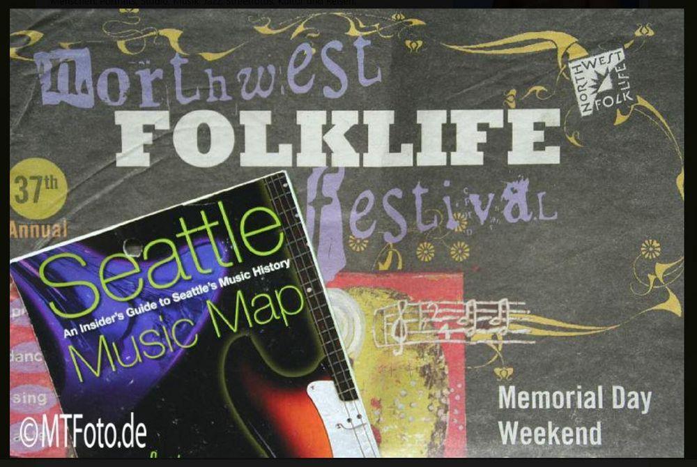 snip Seattle FolkLife Musikfestivals 2008 +10Fotos